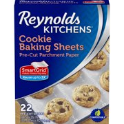 Reynolds Parchment Paper Baking Sheets 22 Count (12x16in)