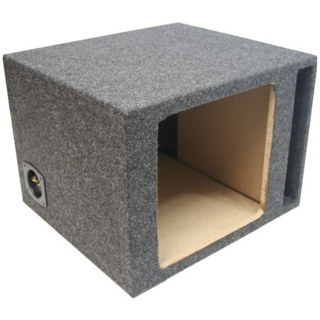 Single 12 Car Stereo Kicker Square L3 L5 L7 Ported Sub Enclosure Subwoofer Box