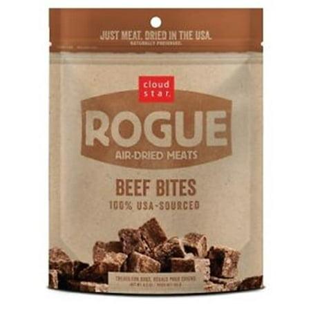 Cloud Star & Whitebridge Pet CW19102 Rogue Air Dried Bf Bites Pet Food, 6.5
