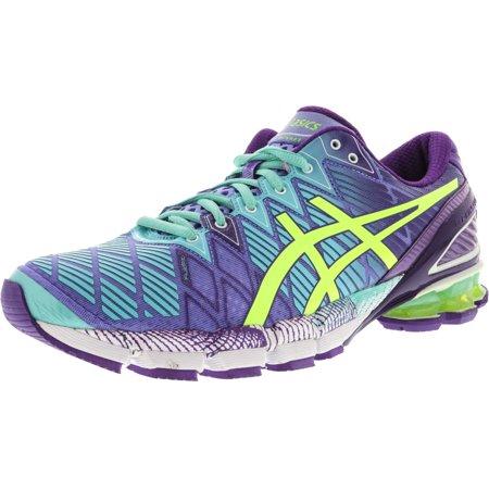 revendeur 02a35 0e8c0 Asics Women's Gel-Kinsei 5 Periwinkle / Flash Yellow Mint Ankle-High  Running Shoe - 12M