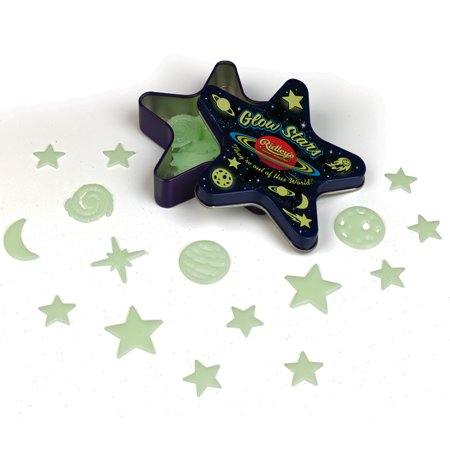 Kids BEDROOM CEILING GALAXY 50 PIECE SET Glow in the dark moon stars planets (Glow In The Dark Moon And Stars)