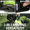 Greenworks 40V 19 in. Cordless Brushless Walk Behind Push Lawn Mower (Tool-Only), 2501302
