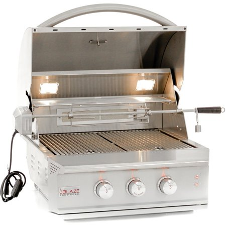 Image of Blaze Professional 27-inch Built-in Propane Gas Grill With Rear Infrared Burner - Blz-2pro-lp
