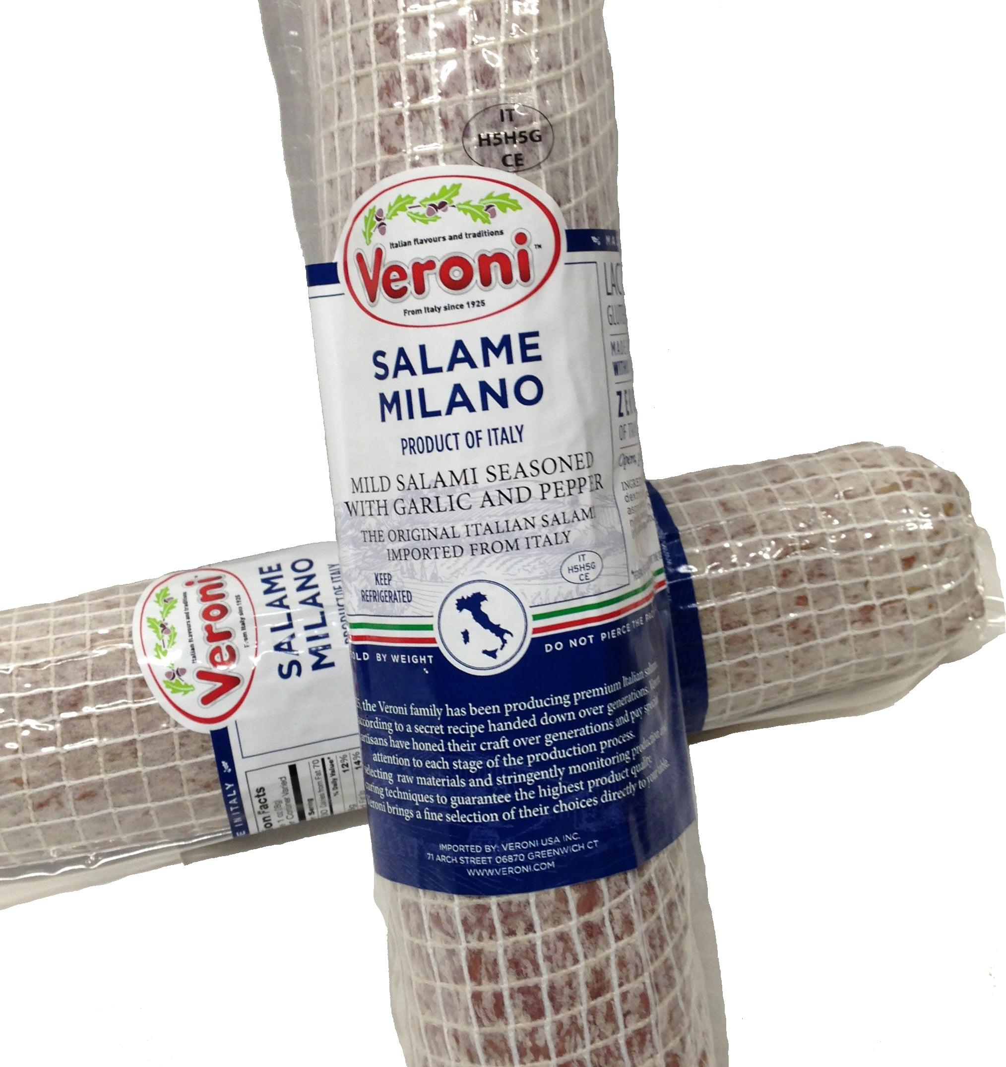 Veroni Salami Milano 1 Lb Slice by Verolio
