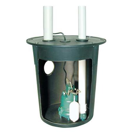 ZOELLER 900-0002 Sump Pump System, 3/10HP, Vertical Switch ()