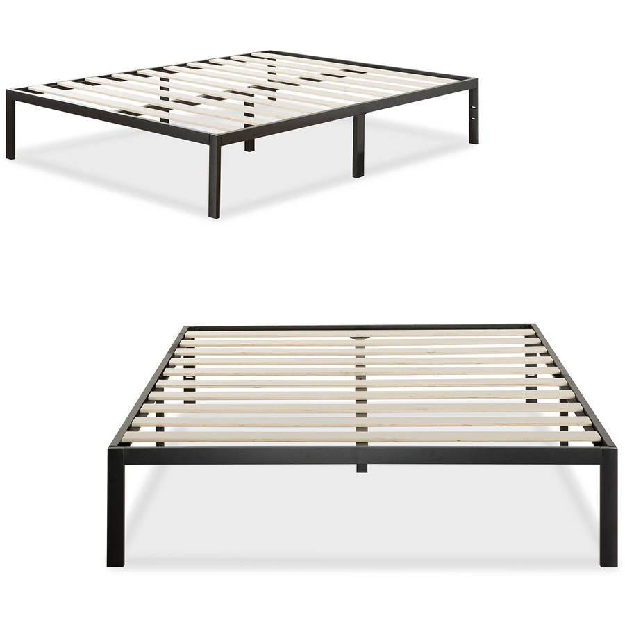 Modern Studio Metal Platform Bed 1000 by Zinus, Multiple Sizes by