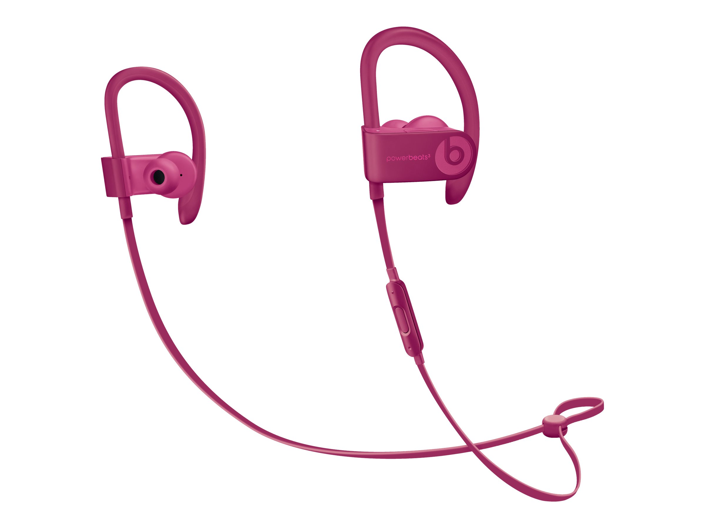 Beats Powerbeats3 Neighborhood Collection Earphones With Mic In Ear Over The Ear Mount Bluetooth Wireless Noise Isolating Brick Red For 10 5 Inch Ipad Pro 12 9 Inch Ipad Pro