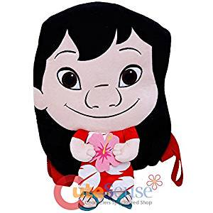 Plush Backpack - Disney - Lilo and Stitch Pele 16