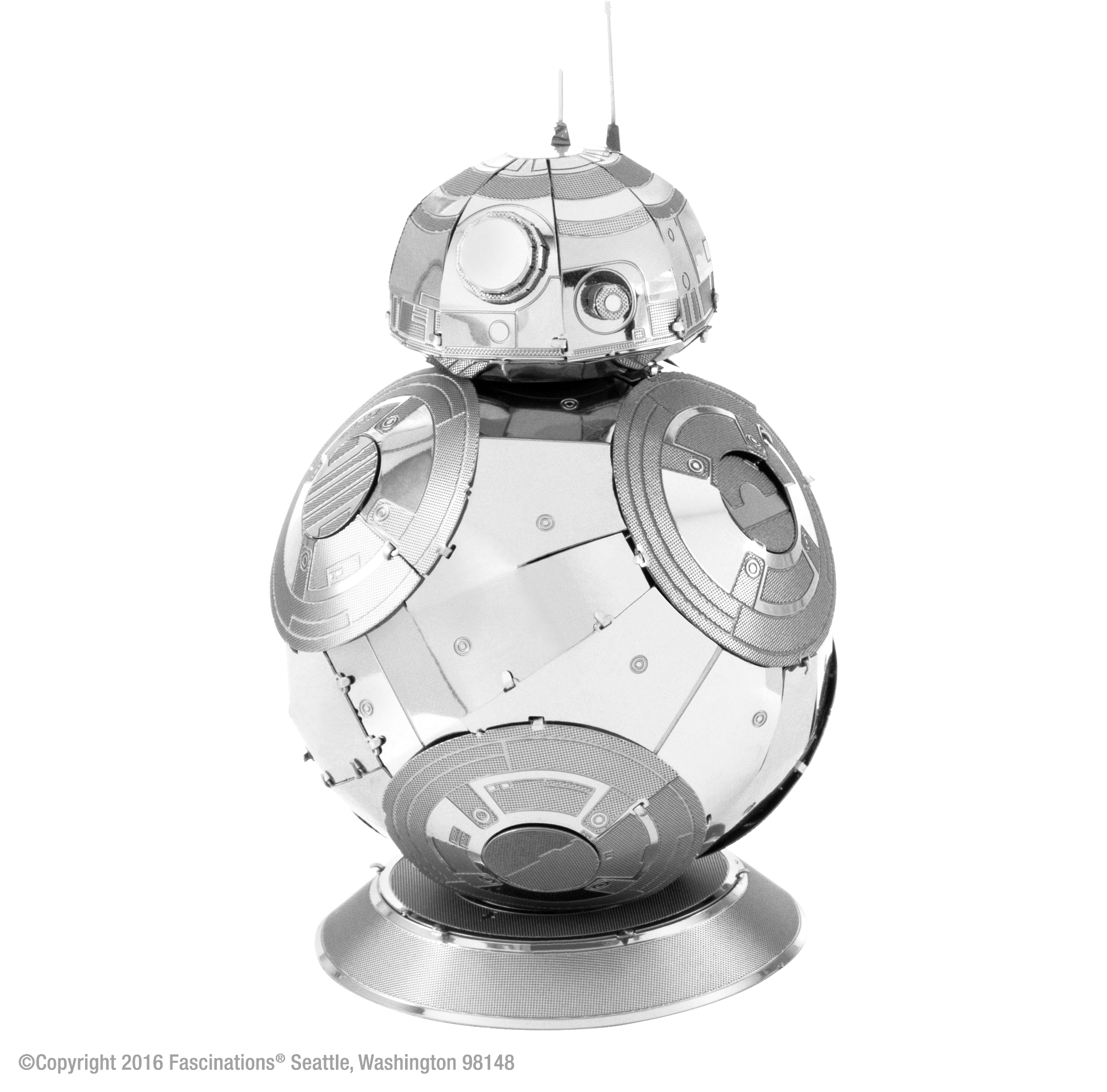 Fascinations Metal Earth 3D Metal Model Kit Star Wars Episode 7 BB-8 by Fascinations