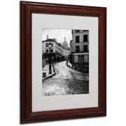 "Trademark Fine Art ""Montmartre"" Framed Canvas Art by Chris Bliss"