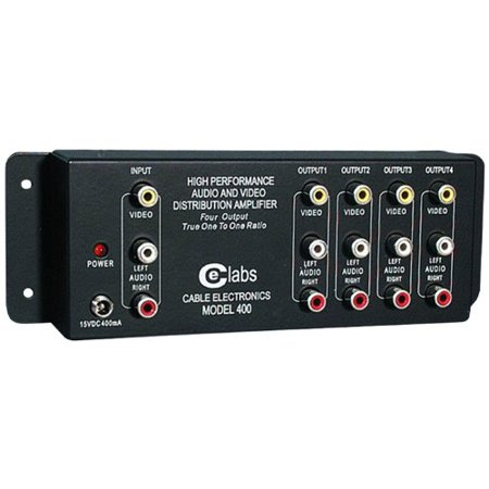 AV 400 Prograde Composite A/V Distribution Amplifiers (1x24 Digital Distribution Amplifier)
