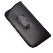 806 - EYEWEAR POUCH WITH CLIP SOFT CASE