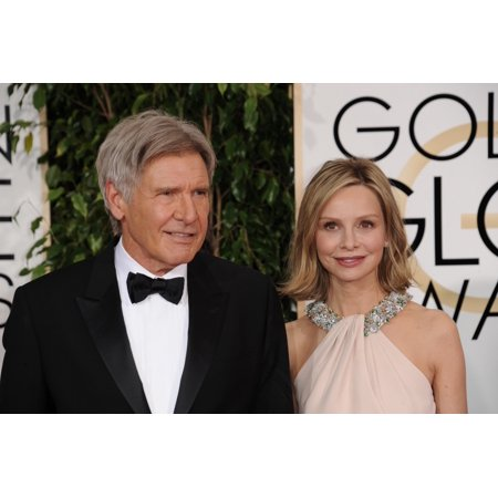 Harrison Ford Calista Flockhart At Arrivals For The 72Nd Annual Golden Globe Awards 2015 - Part 1 The Beverly Hilton Hotel Beverly Hills Ca January 11 2015 Photo By Linda WheelerEverett Collection Cel