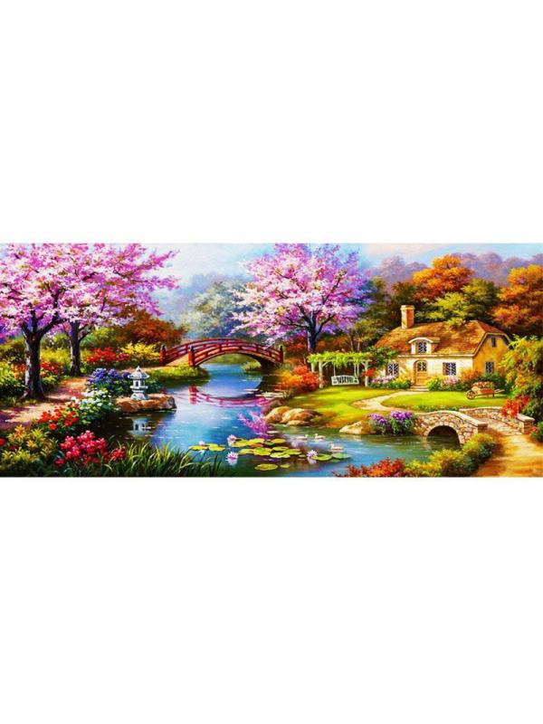 5D Diamond Embroidery Kit City Landscape Diamond Painting Living Room Decor