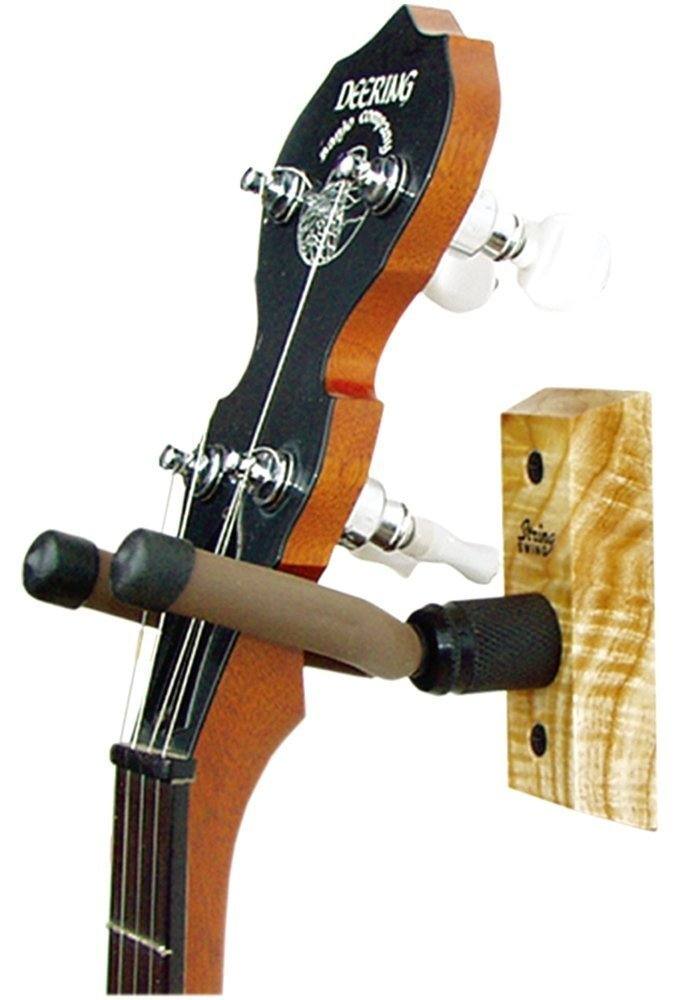 Hardwood Home & Studio Banjo Hanger By String Swing by