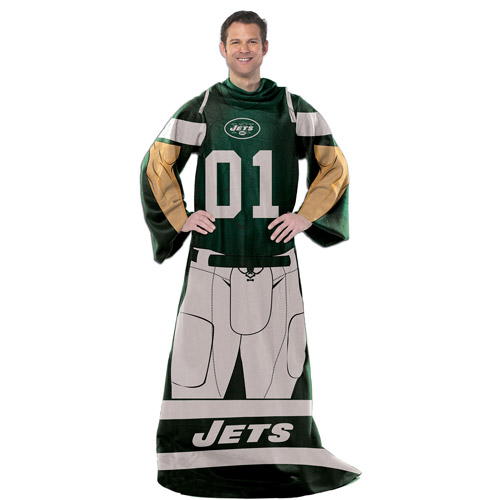 "NFL Player 48"" x 71"" Comfy Throw, Jets"