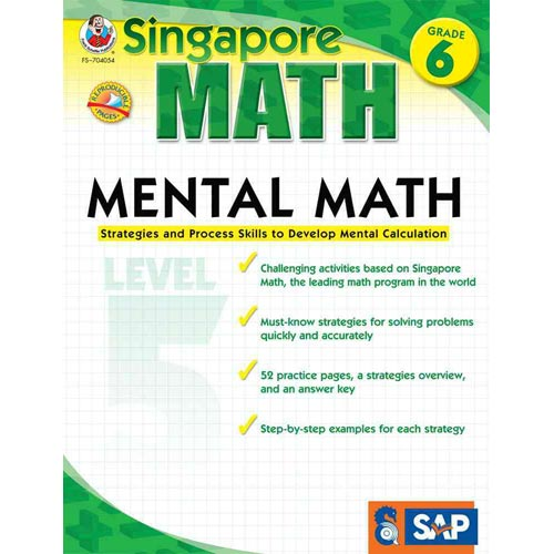 Mental Math: Strategies and Process Skills to Develop Mental Calculation, Grade 6 (Level 5)