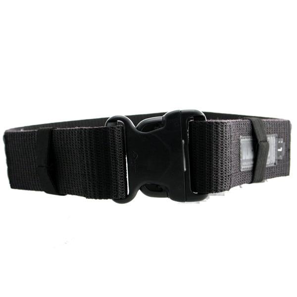Blackhawk Hunting Military Web Belt Black Fits Up to 43 Inch Waist
