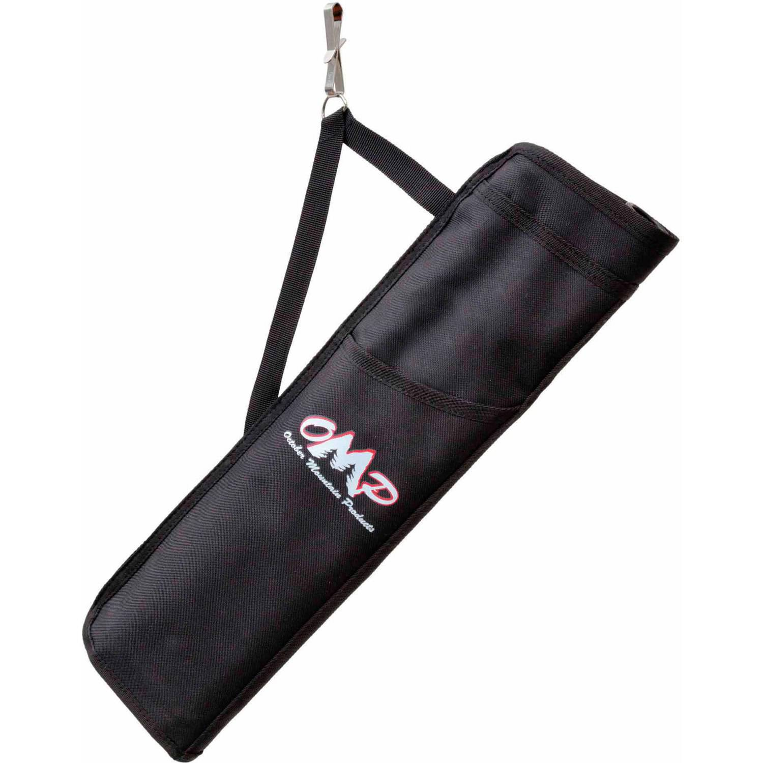 October Mountain Hip Quiver 3 Tube, Right Hand/Left Hand