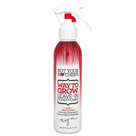 Not Your Mother's Way To Grow Long & Strong Leave-In Conditioner & Detangler, 6 Oz (Alba Leave In Conditioner)