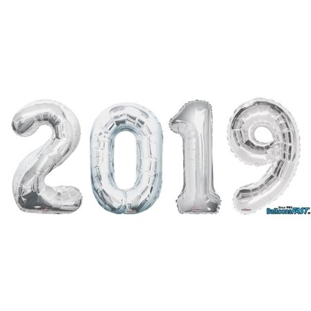 2019 Big Number Balloon Set 34