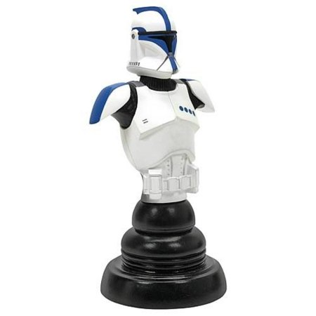- Gentle Giant Star Wars Episode II Blue Clone Trooper Lieutenant Classics Bust