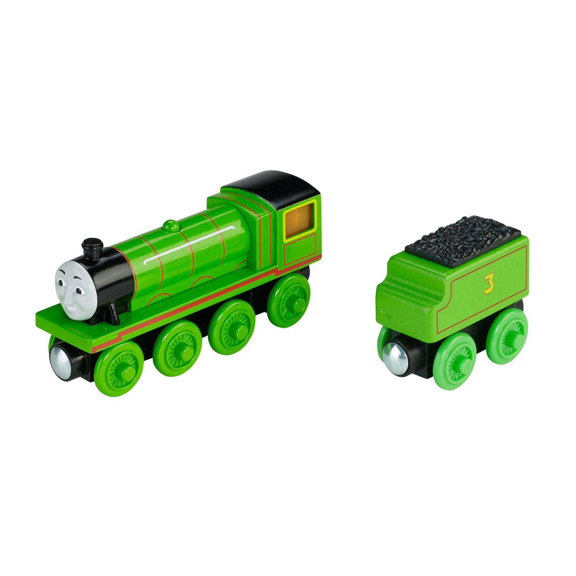 Thomas & Friends Wooden Railway Light-Up Reveal Henry by FISHER PRICE