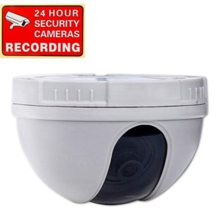 CCTV CCD Dome Security Camera 420 TVL f 3.6mm Wide Angle Lens for DVR Home Surveillance System DM10W 1CZ, Color CCD image sensor. By VideoSecu