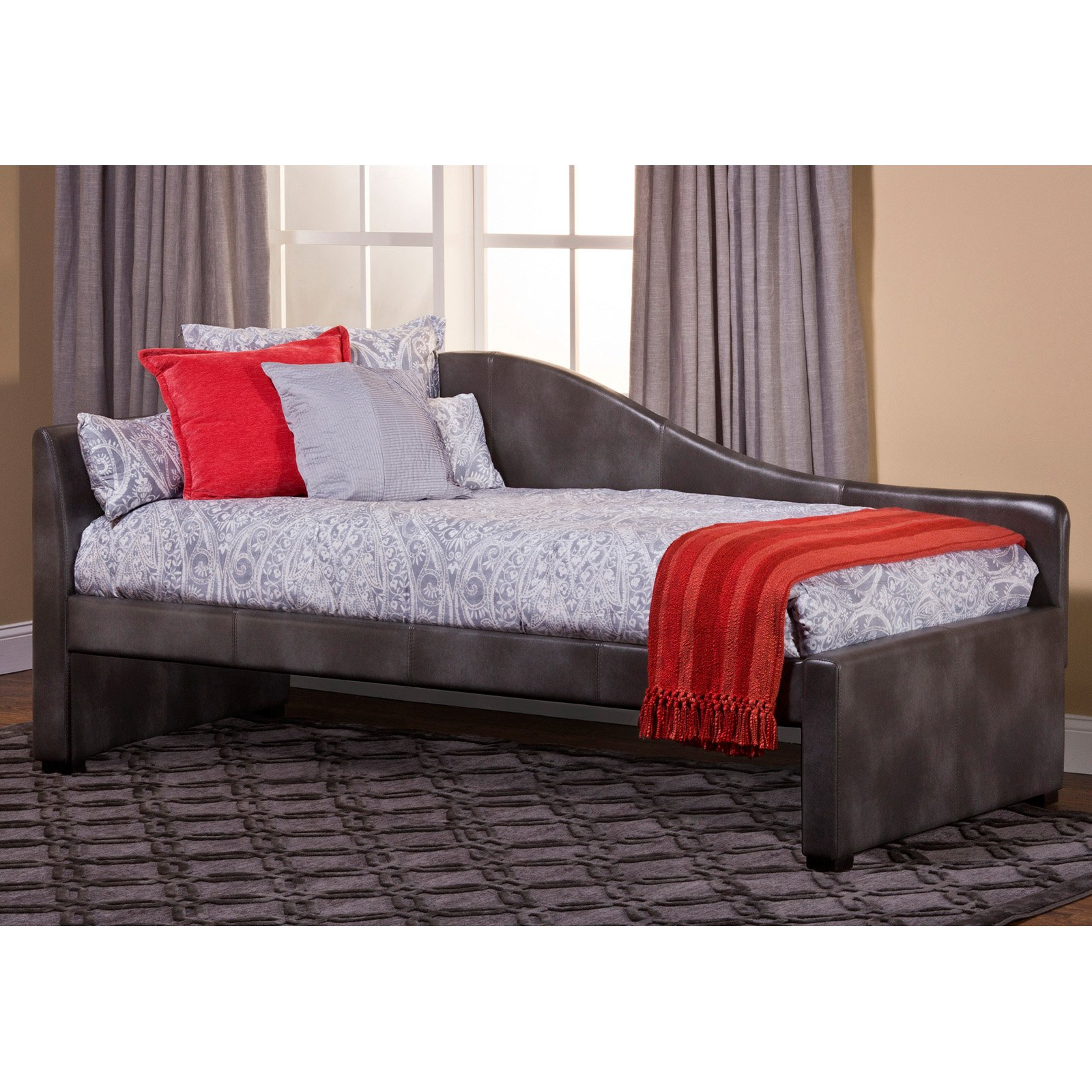 Hillsdale Winterberry Upholstered Day Bed by Hillsdale
