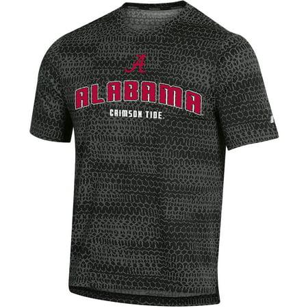 - Men's Russell Black Alabama Crimson Tide Synthetic T-Shirt