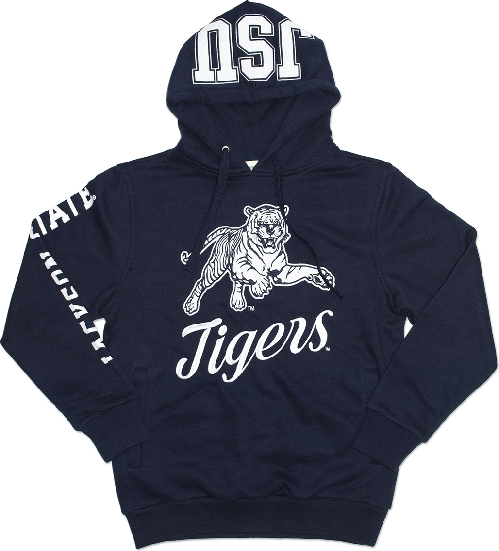 Jackson State Tigers S3 Mens Hoodie [Navy Blue S] by