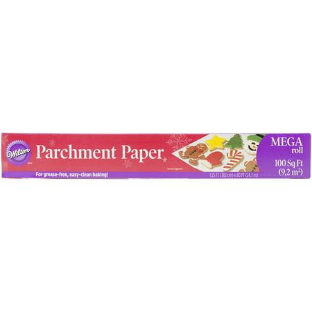 Parchment Paper Mega Roll - 1.25' x 80'