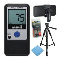 Pocket Radar Ball Coach/Pro-Level Speed Training Tool with Accessory Bundle