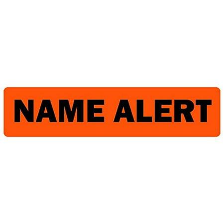 Name Alert Medical Labels LV-MCL23, Label Dimension 2x 1 By LabelValuecom ()