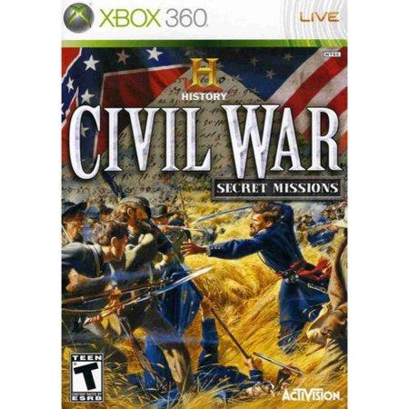History Channel Civil War: Secret Missions - Xbox 360