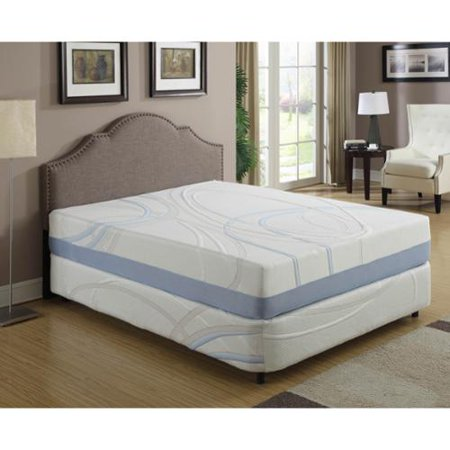 Ac Pacific 12 Inch California King Gel Infused Memory Foam Mattress