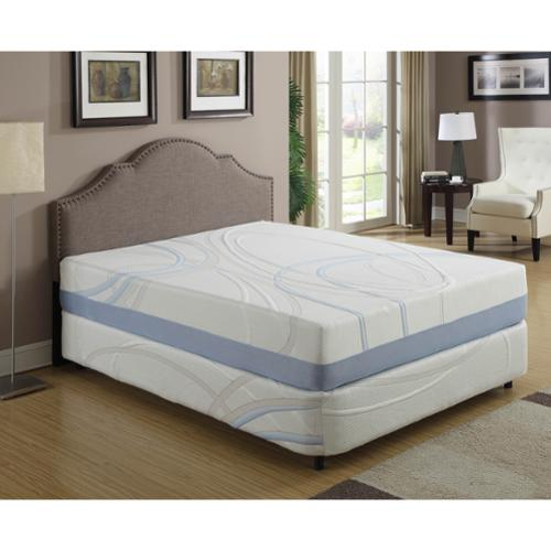 AC Pacific 12-inch California King Gel Infused Memory Foam Mattress
