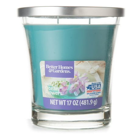 Trapp Candle Flowers - Better Homes & Gardens Fresh Ocean Flowers Candle, 17 oz