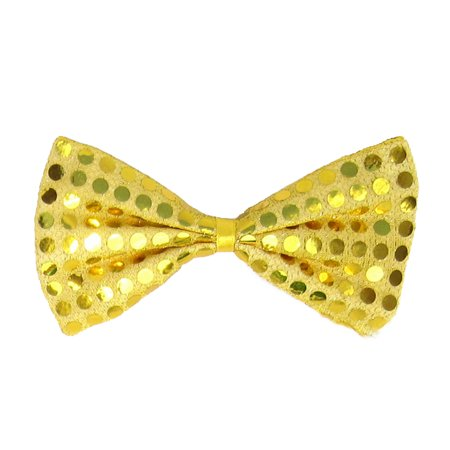 SeasonsTrading Gold Sequin Bow Tie Costume Party Dress Up](Good Party Costumes)