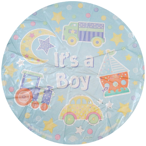 Baby Shower 'It's a Boy' Foil Mylar Balloon (1ct)