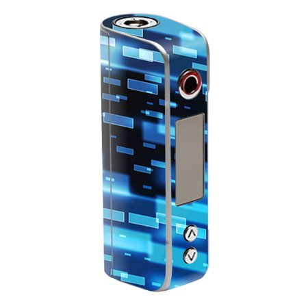 Skin For Sigelei Spark 90W Tc   Space Blocks   Mightyskins Protective  Durable  And Unique Vinyl Decal Wrap Cover   Easy To Apply  Remove  And Change Styles   Made In The Usa
