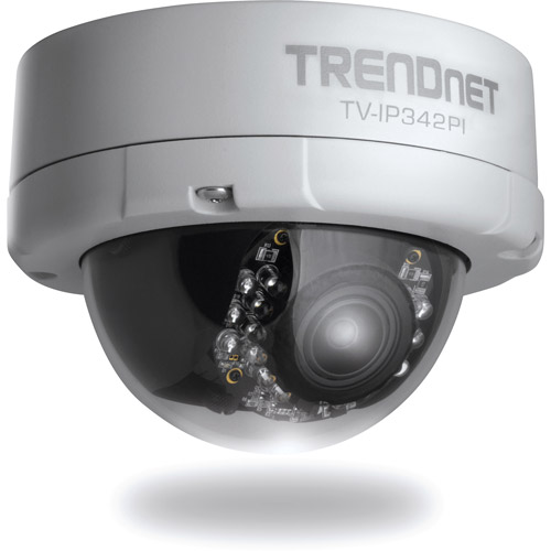 TRENDnet Outdoor 2MP Full HD PoE DayNit Dome Network Camera