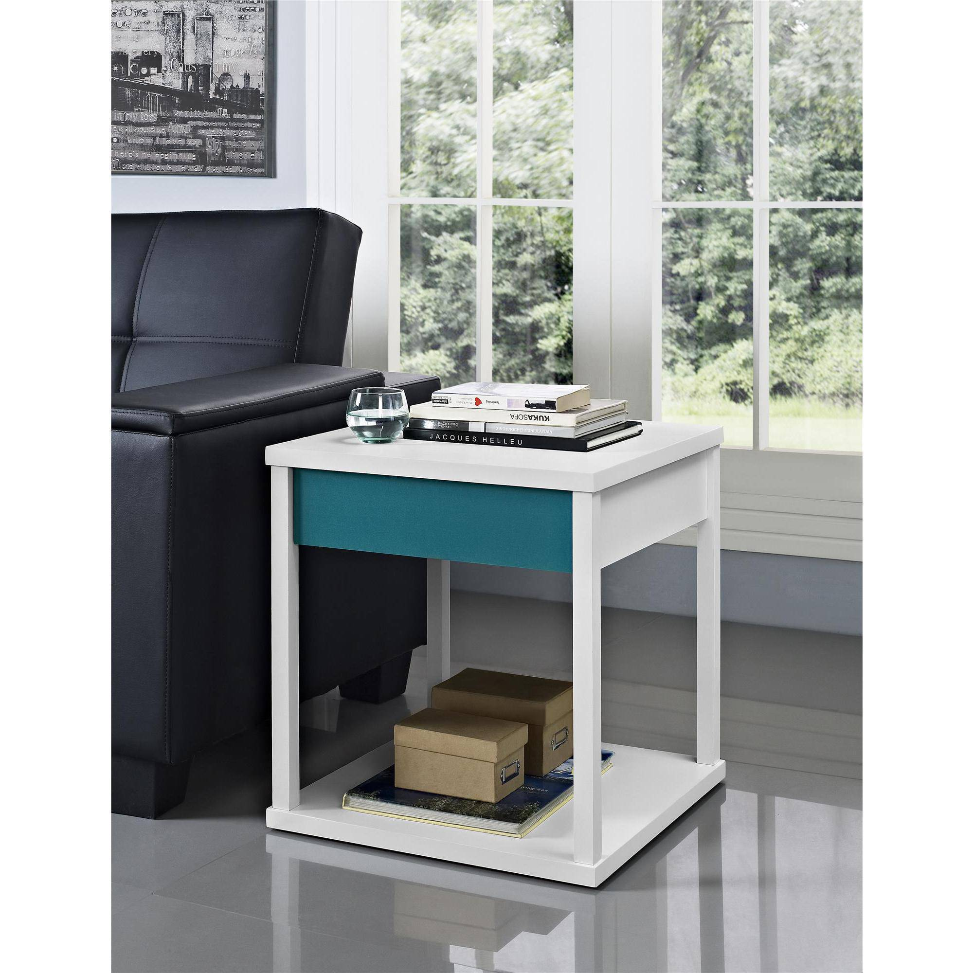 Altra Furniture Parsons Nightstand/End Table, Multiple Colors