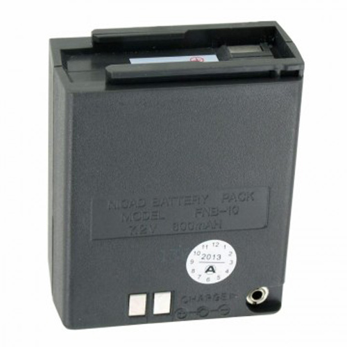 """Battery for Yaesu FNB-10 (Single Pack) Two-Way Radio Battery"""