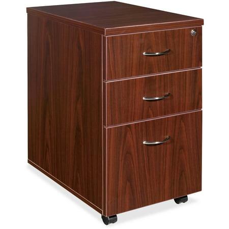 3 Drawers Vertical Wood Composite Lockable Filing Cabinet,