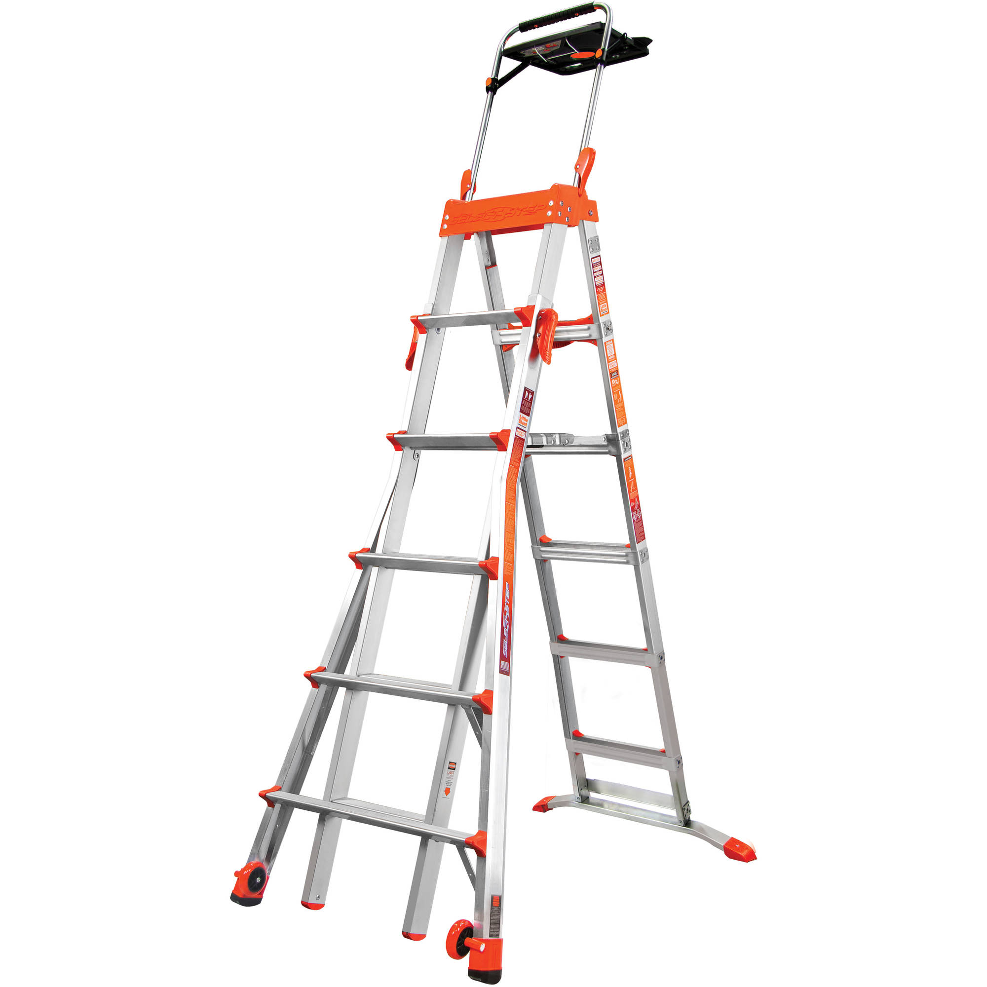 Little Giant Ladder Systems Select Step 6'-10' Adjustable Step Ladder
