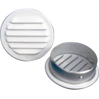 "Round Screened Vent, 2"", Pack of 6"