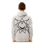 Black Scale Mens The Pyrex Vision Zip Up Hoodie Sweatshirt