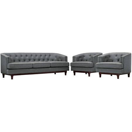 Modway Coast Living Room Upholstered Sofa Armchairs Multiple