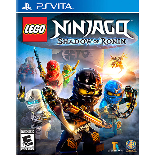 LEGO Ninjago: Shadow of Ronin, WHV Games, PS Vita, 883929468591